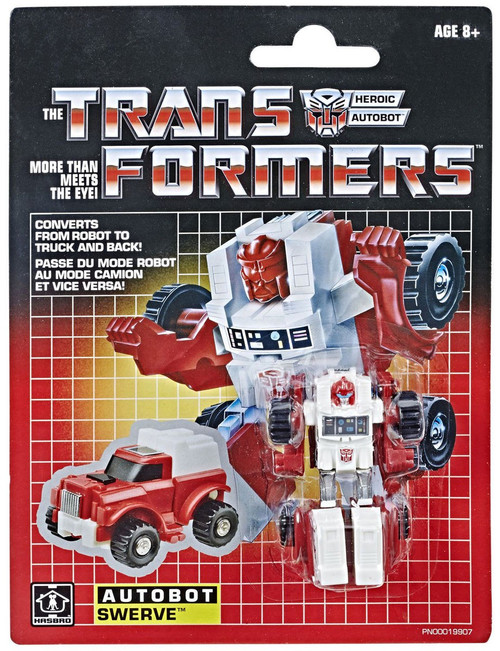 Transformers G1 Swerve Legion Action Figure