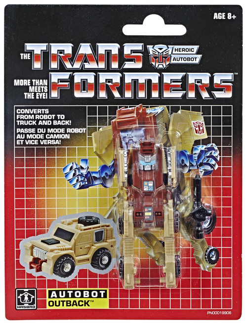Transformers G1 Outback Legion Action Figure