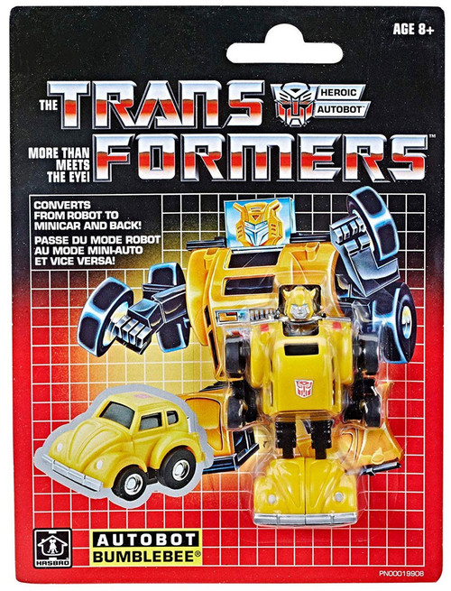 Transformers G1 Bumblebee Legion Action Figure