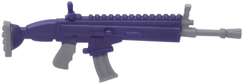 Fortnite Legendary Assault Rifle 2-Inch Epic Figure Accessory [Purple Loose]