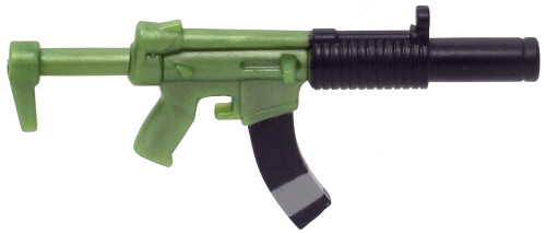 Fortnite Submachine Gun 2-Inch Uncommon Figure Accessory [Green Loose]