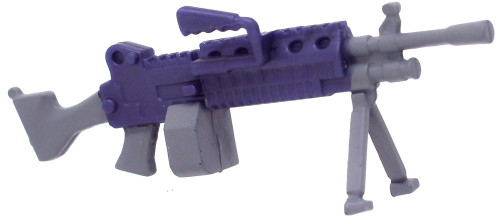 Fortnite Light Machine Gun 2-Inch Epic Figure Accessory [Purple Loose]