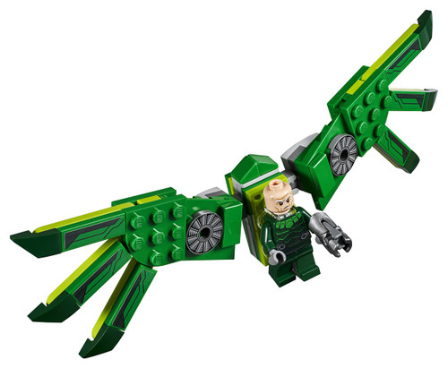 LEGO Marvel Spider-Man Vulture Minifigure [with Wings Loose]