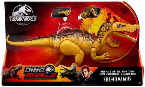 Jurassic World Fallen Kingdom Dino Rivals Suchomimus Action Figure [Mega Dual Attack]