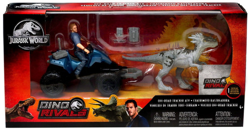 Jurassic World Fallen Kingdom Dino Rivals Off-Road ATV & Cuatrimoto Rastreadora Action Figure