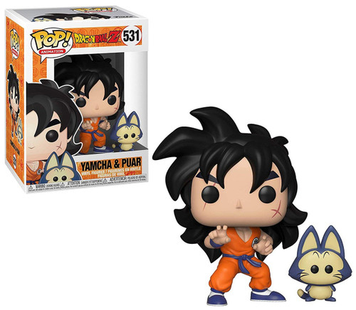 Funko Dragon Ball Z POP! Animation Yamcha & Puar Vinyl Figure & Buddy #531