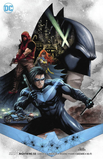 DC Nightwing #55 Comic Book [Tyler Kirkham Variant Cover]