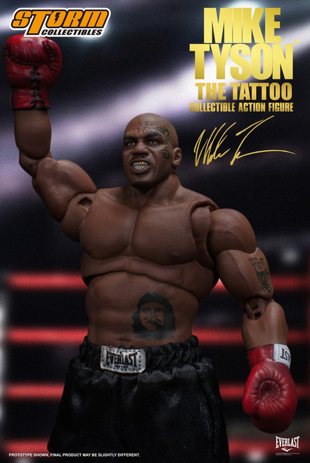 Mike Tyson Action Figure [The Tattoo]