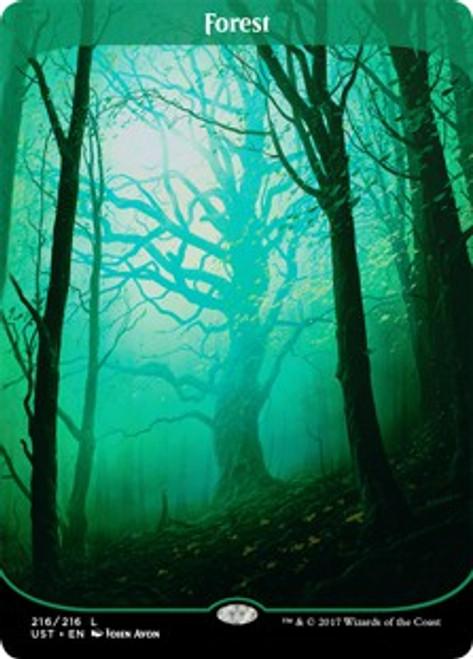 MtG Unstable Land Foil Forest #216