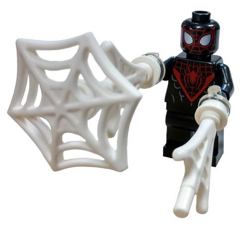 LEGO Marvel Super Heroes Spider-Man Miles Morales Minifigure [With Webs Loose]