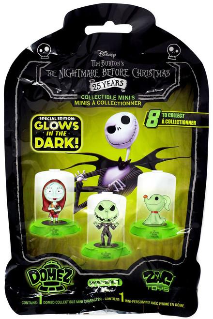 Domez Disney Nightmare Before Christmas Glow in the Dark Series 1 Mystery Pack [1 RANDOM Figure]