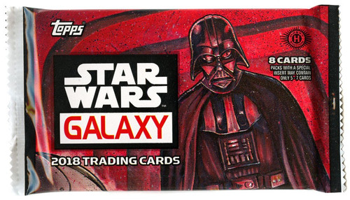 Topps 2018 Star Wars Galaxy Trading Card HOBBY Pack