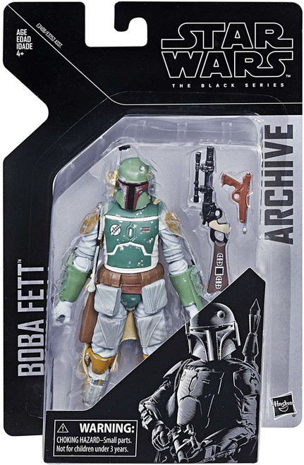 Star Wars The Empire Strikes Back Black Series Archive Wave 1 Boba Fett Action Figure