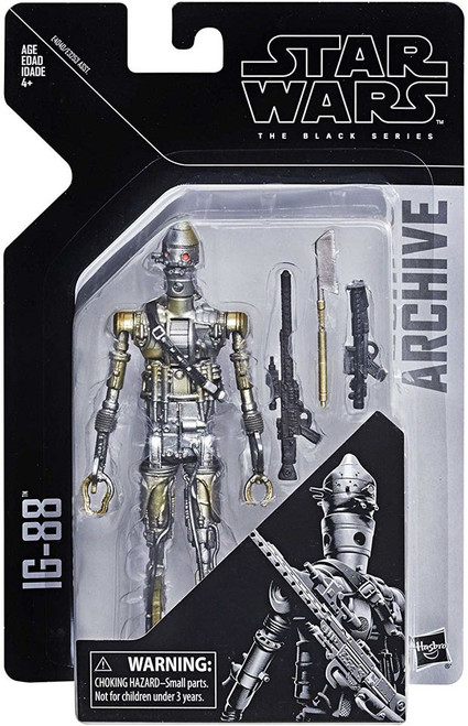 Star Wars Empire Strikes Back Black Series Archives Wave 1 IG-88 Action Figure
