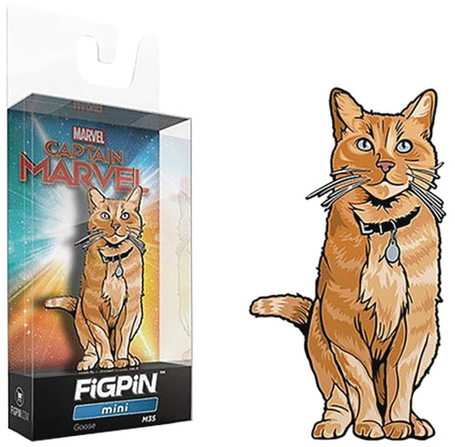 Captain Marvel FiGPiN Goose the Cat 2-Inch Collectible Pin