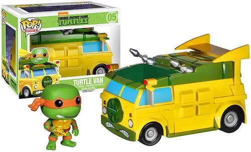 Funko Teenage Mutant Ninja Turtles POP! TV Turtle Van Vinyl Figure #05 [Damaged Package]