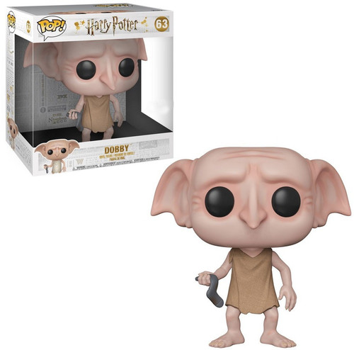 Funko Harry Potter POP! Movies Dobby Exclusive 10-Inch Vinyl Figure #63 [Super Size, Damaged Package]