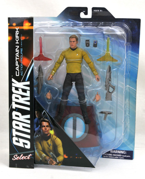 Star Trek Into Darkness Select Captain James T. Kirk Action Figure