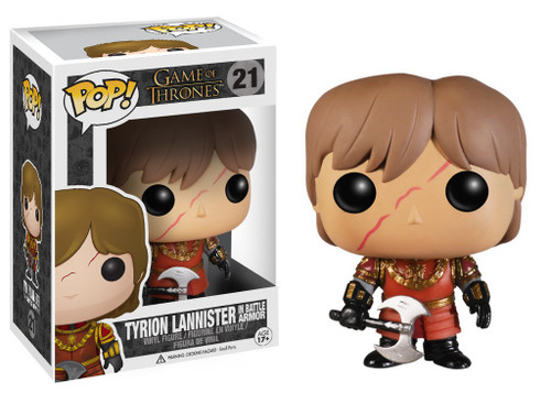Funko Game of Thrones POP! TV Tyrion Lannister Vinyl Figure #21 [Battle Armor, Damaged Package]