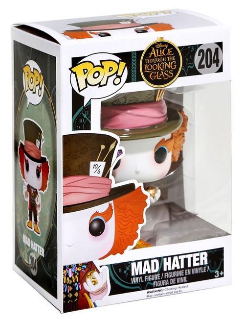 Funko Alice Through the Looking Glass POP! Disney Mad Hatter Exclusive Vinyl Figure #104 [Chronosphere, Damaged Package]