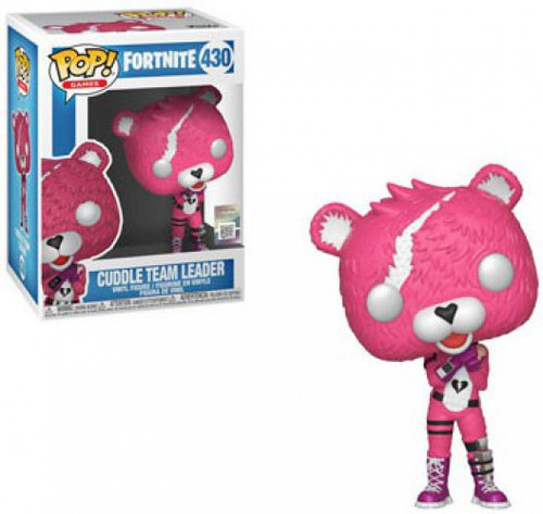Funko Fortnite POP! Games Cuddle Team Leader Vinyl Figure #430 [Damaged Package]