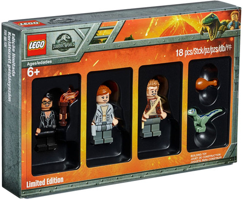LEGO Jurassic World Minifigure Collection 4-Pack