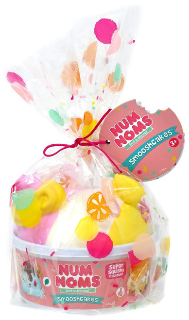 Num Noms Smooshcakes Bella Bubblegum Squeeze Toy