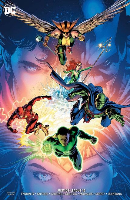 DC Justice League #15 Comic Book [Will Conrad Variant]