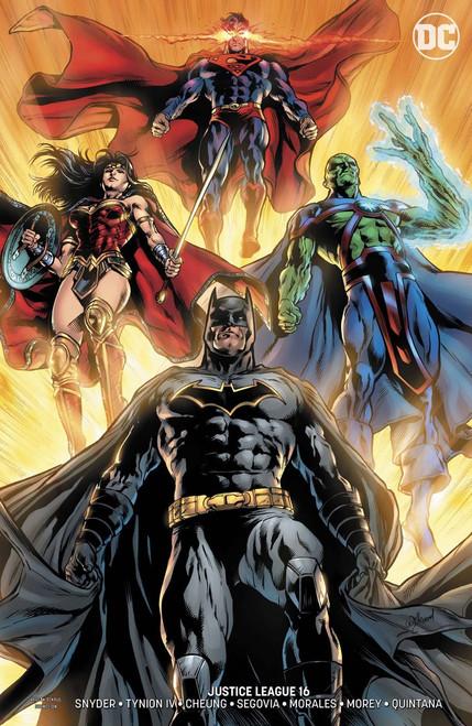 DC Justice League #16 Comic Book [Will Conrad Variant]