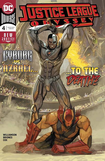 DC Justice League Odyssey #4 Comic Book
