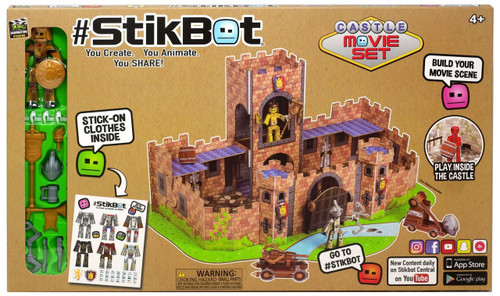Stikbot Castle Movie Set