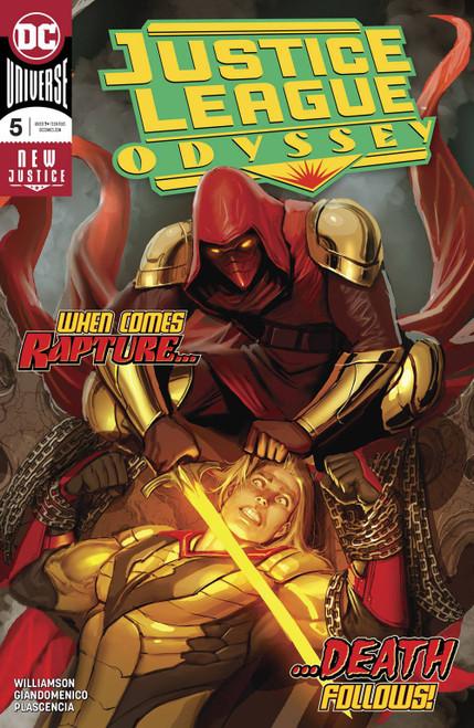DC Justice League Odyssey #5 Comic Book