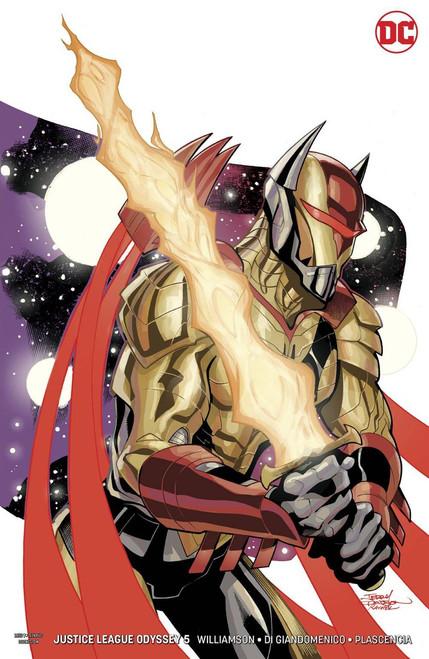DC Justice League Odyssey #5 Comic Book [Infante Variant]