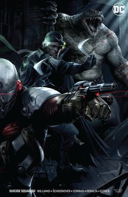 DC Suicide Squad #50 Comic Book [Mattina]