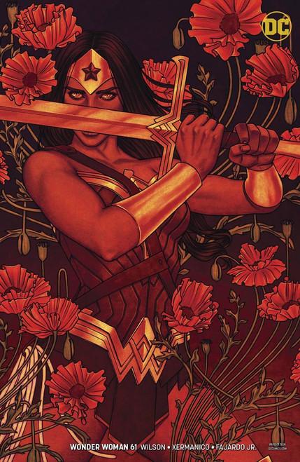 DC Wonder Woman #61 Comic Book [Jenny Frison Variant Cover]