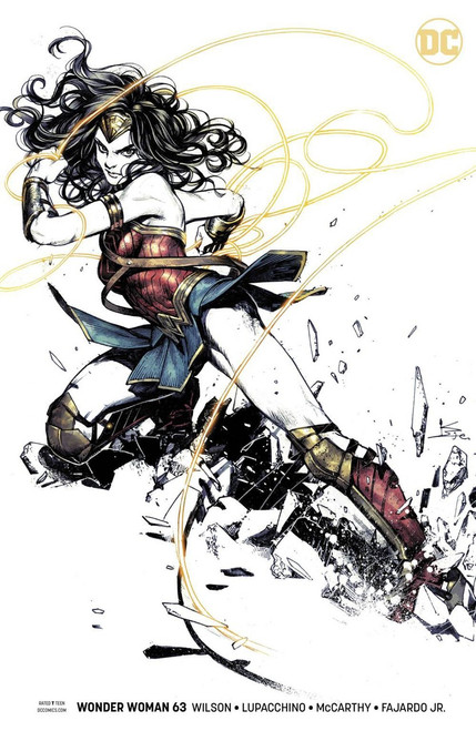 DC Wonder Woman #63 Comic Book [Matteo Scalera Variant]