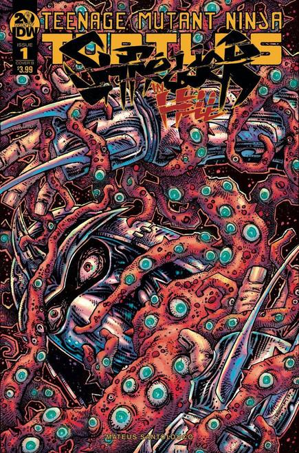 IDW Teenage Mutant Ninja Turtles Shredder in Hell #1 Comic Book [Eastman Cover B]