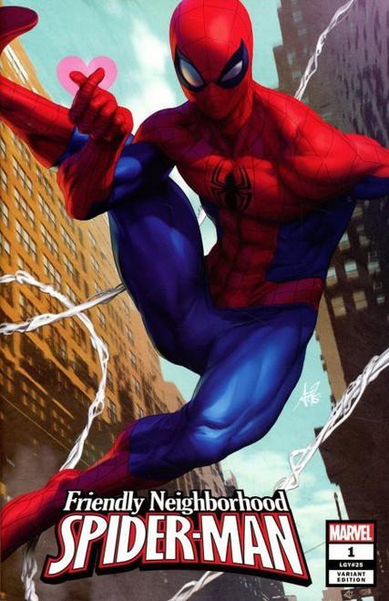 "Marvel Comics Friendly Neighborhood Spider-Man #1 Comic Book [Stanley ""Artgerm"" Lau Variant]"