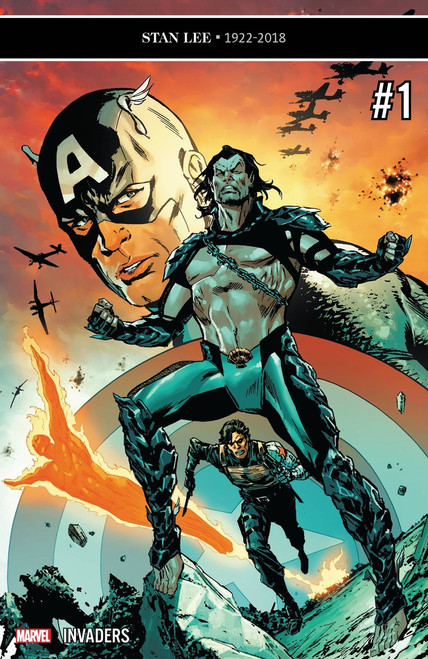 Marvel Comics Invaders #1 Comic Book