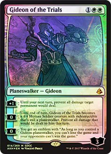 MtG Promo Cards Promo Gideon of the Trials [SDCC 2017]