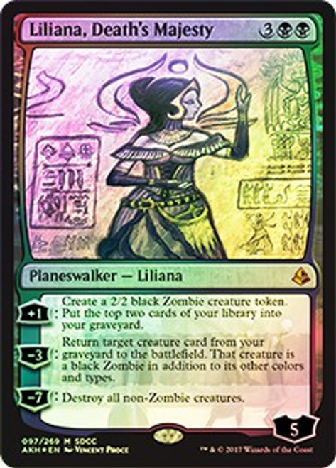 MtG SDCC Promo Cards Promo Liliana, Death's Majesty [SDCC 2017]