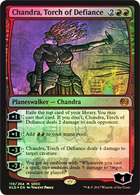 MtG Promo Cards Promo Chandra, Torch of Defiance [SDCC 2017]