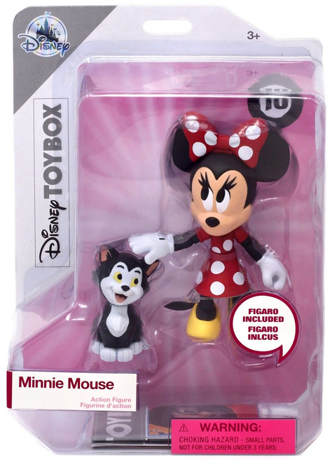 Disney Mickey Mouse Toybox Minnie Mouse & Figaro Exclusive Action Figure