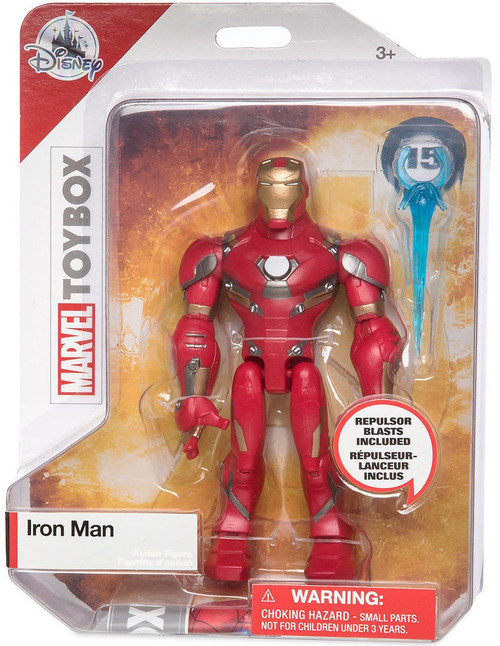 Disney Marvel Toybox Iron Man Exclusive Action Figure [Version 2]