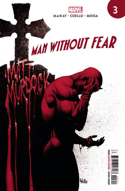 Marvel Comics Man Without Fear #3 Comic Book