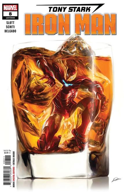 Marvel Tony Stark: Iron Man #8 Comic Book