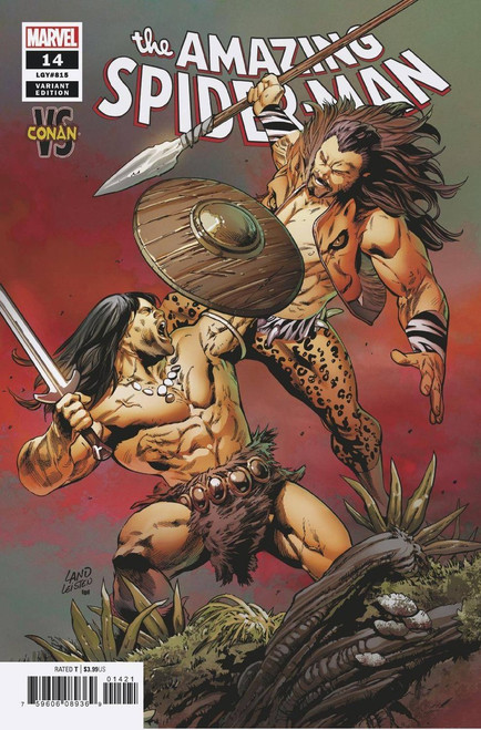 Marvel Comics Amazing Spider-Man #14 Comic Book [Land Conan Variant]