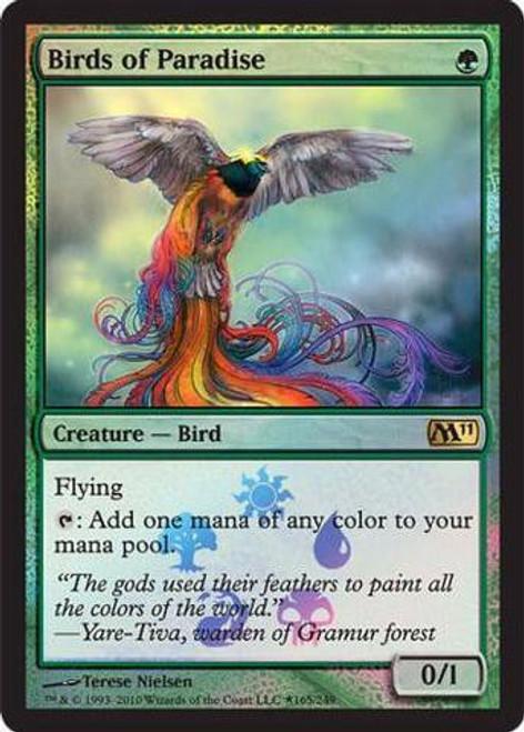 MtG Prerelease & Release Promo Birds of Paradise [Magic 2011 Box Promo]