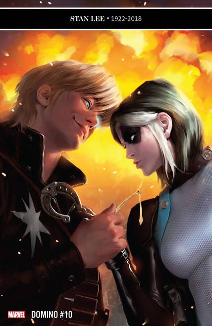 Marvel Comics Domino #10 Comic Book