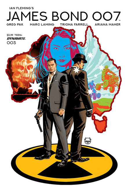 Dynamite Entertainment James Bond 007 #3 Comic Book